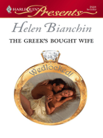 The Greek's Bought Wife