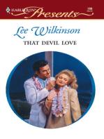 That Devil Love