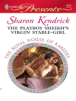 The Playboy Sheikh's Virgin Stable-Girl