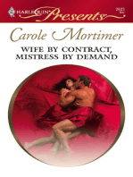 Wife By Contract, Mistress By Demand