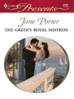 The Greek's Royal Mistress