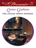 The Italian Boss's Mistress
