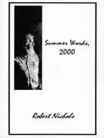 Summer Words, 2000 eBook