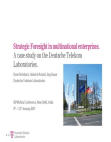 case study on The Deutsche Telekom Laboratories
