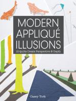 Modern Appliqué Illusions