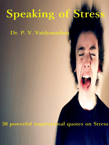 Speaking of Stress
