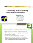 Accounting Information System - Business Information System