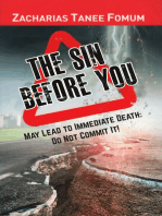 The Sin Before You May Lead To Immediate Death