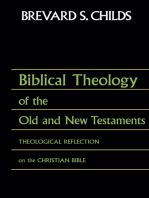 Biblical Theology of OT and NT