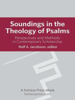 Soundings in the Theology of Psalms