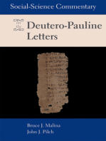 Social Science Commentary on the Deutero-Pauline Letters