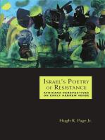 Israel's Poetry of Resistance