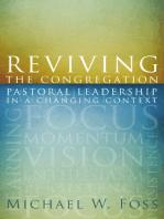 Reviving the Congregation