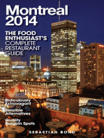 MONTREAL - 2014 (The Food Enthusiast's Complete Restaurant Guide)