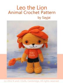 Leo the Lion Animal Crochet Pattern