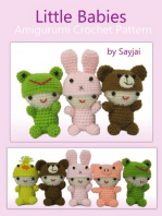 Little Babies Amigurumi Crochet Pattern