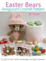 Easter Bears Amigurumi Crochet Pattern