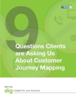 Asking us about customer journey mapping