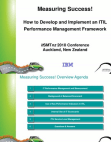 Project on Performance Management - ITIL