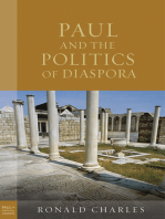 Paul and the Politics of Diaspora