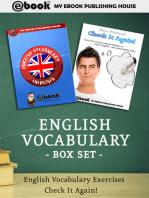 English Vocabulary Box Set