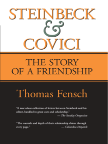 Steinbeck and Covici: The Story of a Friendship