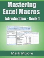 Mastering Excel Macros