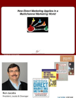 Direct Marketing Project on Multichannel Marketing World