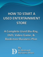 How To Start A Used Entertainment Store