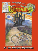 The Ninespire Experiment (Epic Fantasy Adventure Series, Knightscares Book 7)