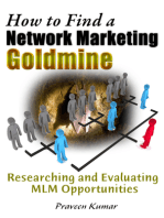 How to Find a Network Marketing Goldmine