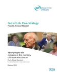 End of Life Care Strategy Fourth Annual Report