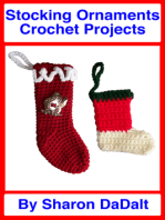 Stocking Ornaments Crochet Projects