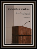 Competitive Speaking