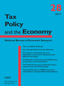 Tax Policy and the Economy, Volume 28