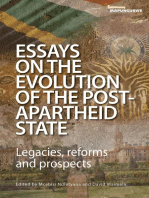 Essays on the Evolution of the Post-Apartheid State