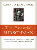 The Essential Hirschman