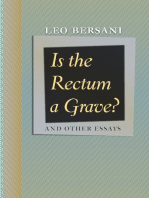 Is the Rectum a Grave?