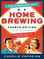 The Complete Joy of Homebrewing: Fully Revised and Updated
