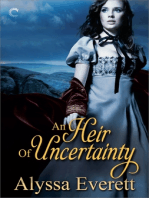 An Heir of Uncertainty