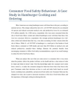 Case Study in Hamburger Cooking