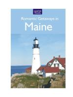 Romantic Getaways in Maine