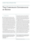 Study Report on Corporate Governance of Banks