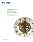 Project Report on Empowering Risk Intelligence in Islamic Finance