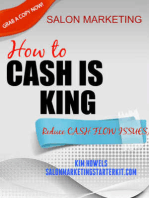 Salon Marketing Cash is King