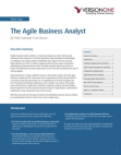 White Paper on Agile Business Analyst