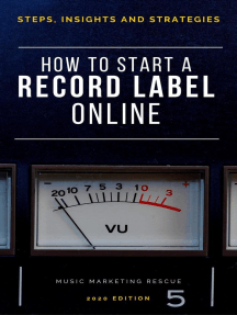 How To Start A Record Label Online: Music Business