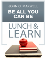 Be All You Can Be Lunch & Learn