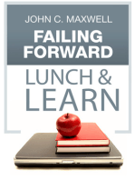 Failing Forward Lunch & Learn