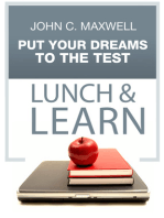 Put Your Dream To The Test Lunch & Learn